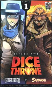 Dice Throne Season Two - Gunslinger vs Samurai